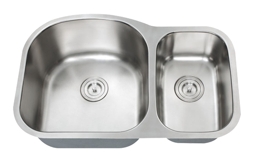 Stainless Steel Double Bowl Kitchen Sink 70/30