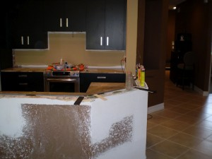 ... The Granite And They Donu0027t Occupy Any Space Underneath The Bar Top. We  Install These 3 Feet Apart From Each Other. They Are Sturdy And Out Of The  Wayu2026